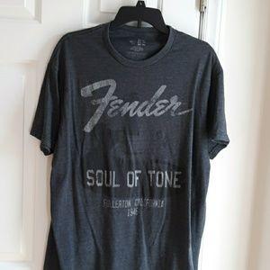XL Fender Soul of Tone guitar tshirt